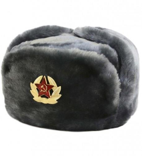 Hat Russian Soviet Army Air force KGB Fur Military Ushanka * GR * Size XL - CA113Z53KQZ