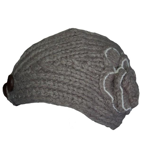 Knit Headwrap - Gray - CY110LBHO13