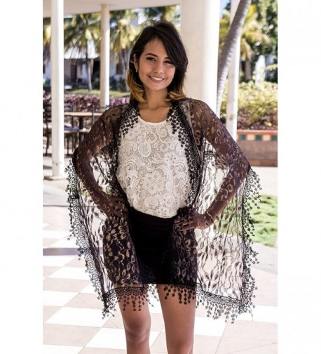 Cindy Wendy Lightweight Fringes Scarf in Wraps & Pashminas