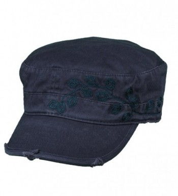 Dorfman Pacific Womens Embroidery Military
