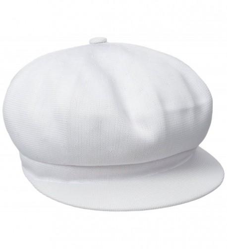 KANGOL Tropic Spitfire Hat - White - CP122VE0OFZ
