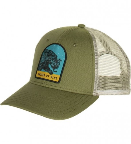 United By Blue Great Bear Trucker Hat - Olive - CP186GM4MQX
