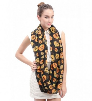 Lina Lily Halloween Infinity Lightweight in Fashion Scarves