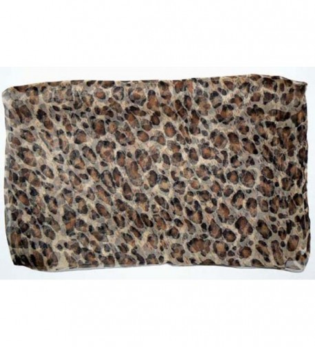 Salon Oblong Rolled Leopard Prints