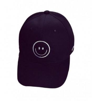 MC Boy's & Girl's Embroidery Hiphop Hats Snapback Baseball caps - Black - CO12F7S68B1
