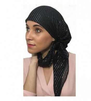Cotton Fitted Lurex%C2%AE Scarf Bandana in Fashion Scarves