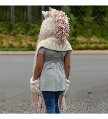 Highpot Unicorn Winter Crochet Knitting in Women's Skullies & Beanies