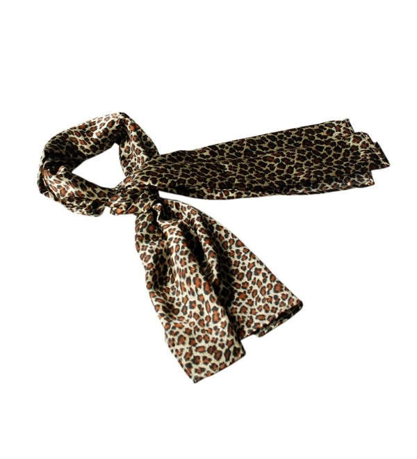 Brando Fashion Lady Leopard Print Subtle Natural Comfy Scarf - CP1195DRKKD