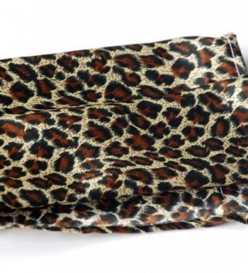 Brando Fashion Leopard Natural Scarf