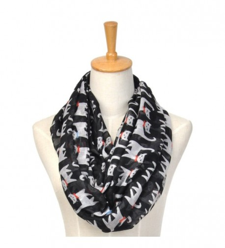 Shokim Lovely Pattern Winter Lightweight in Cold Weather Scarves & Wraps