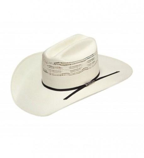 Ariat Unisex Bangora Cowboy Hat - Tan/Black Band - CC11XEXG33P