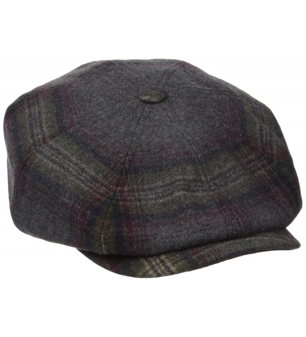 Bailey of Hollywood Men's Rickett - Grey Plaid - CG12IRQUGNL