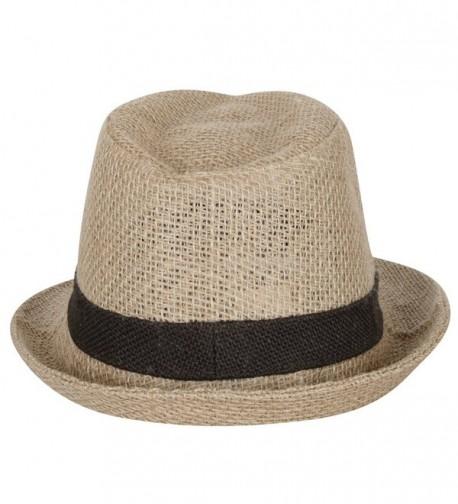 ililily Blocking Hatband Fedora fedora 529 1