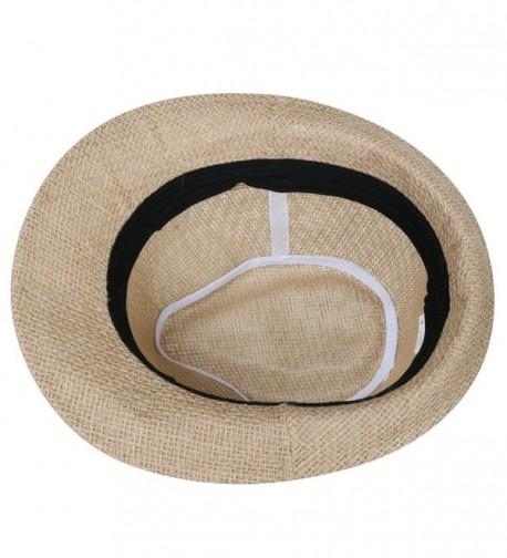 ililily Blocking Hatband Fedora fedora 529 1 in Men's Fedoras
