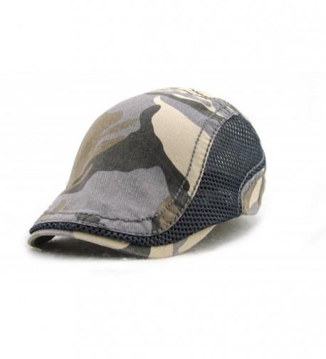 Elwow Women's Vintage Newsboy Flat Cap- Cabbie Hat- Irish Hat for Driving- Hiking- Hunting- Golf- Fishing- etc - C212IHHUP5T