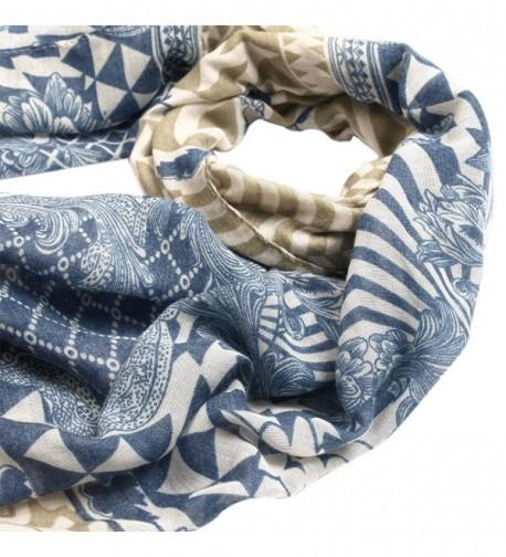 17292f794acaa Vintage Floral & Geometric Print Bohemian Fashion Scarf Shawl Wrap ...