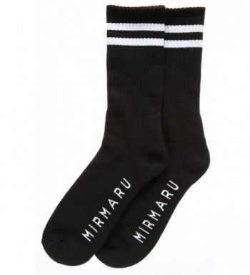 Premium Panel Newsboy Socks Black