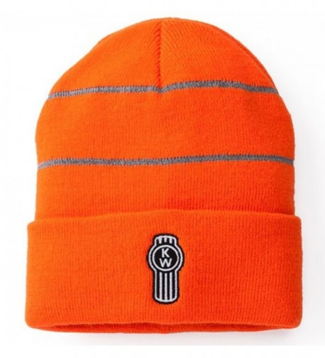 Kenworth High-Vis Safety Orange Winter Beanie Cap - C111RTKSBO3