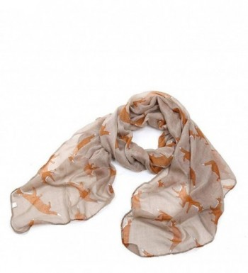 Lightweight Shawls Printed Chiffon Scarves in Fashion Scarves
