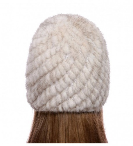 Womens Girls Knitted Winter Beanie in Women's Skullies & Beanies