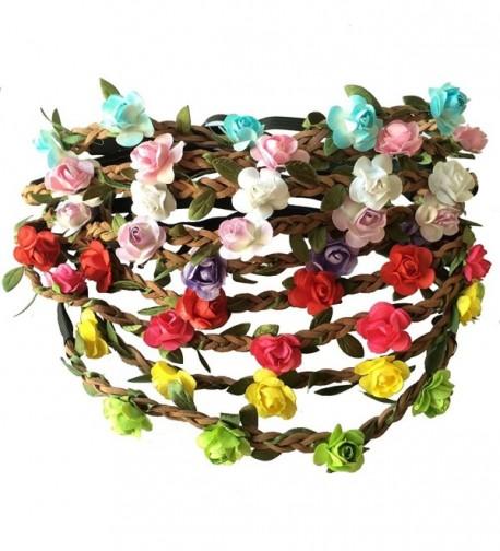 Festival Headband Leather Wedding Garland