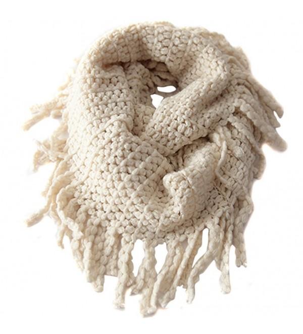 Infinity Toddler UZZO Crochet Tassels - Beige - CU11QAXDKEP