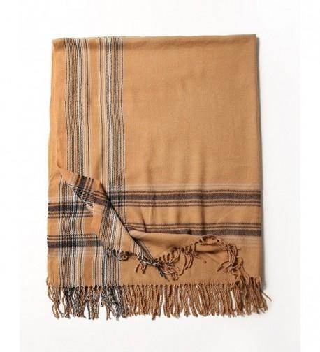 Scarf Oversize Blanket Scarves Caramel