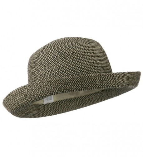 Cotton Paper Braid Kettle Brim in Men's Sun Hats