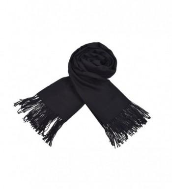 Womens Cashmere Fringe Blanket onesize