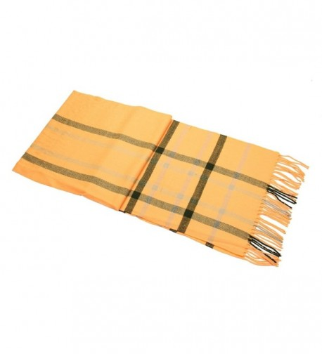 Achillea Classic Cashmere Tartan Checked in Fashion Scarves