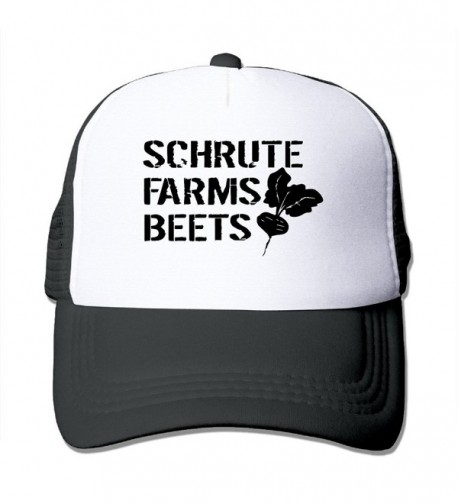 Cap SCHRUTE FARMS BEETS Adjustable Hats - Black - CI186NY6S3K