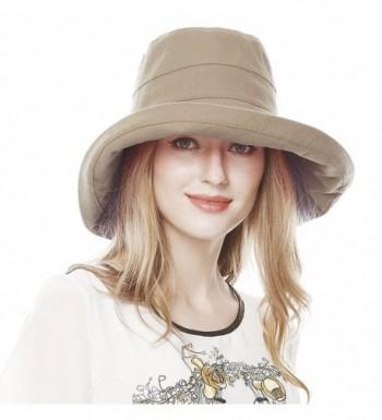 Lovful Womens Cotton Summer Bucket in Women's Sun Hats