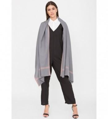 Handwoven Merino Pashmina Oversize Scarf in Fashion Scarves