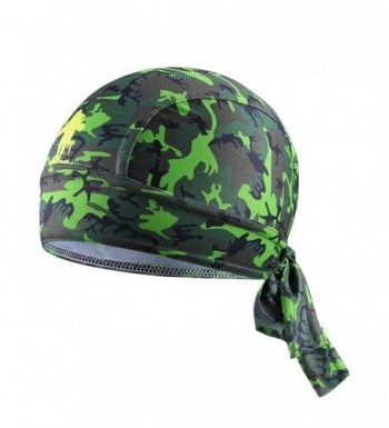 AVAI Bike Hat Ciclismo Cycling Helmet Cap Bicycle Head Pirate Scarf MTB Team Headband Headwear - Green Camo - CU1834DKGLL