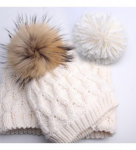 Womens Winter Knitted Beanie Infinity