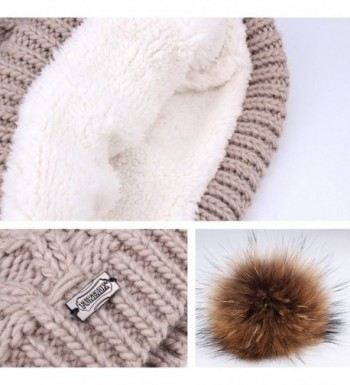 Womens Winter Knitted Beanie Infinity in Fashion Scarves
