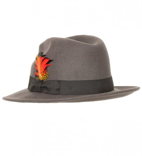 Street Reverb Classic X Large Charcoal in Men's Fedoras
