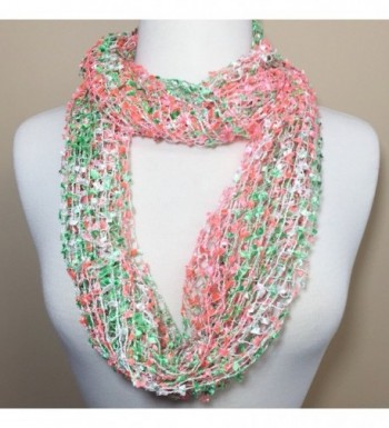 Lightweight Multi Color Infinity Circle in Fashion Scarves