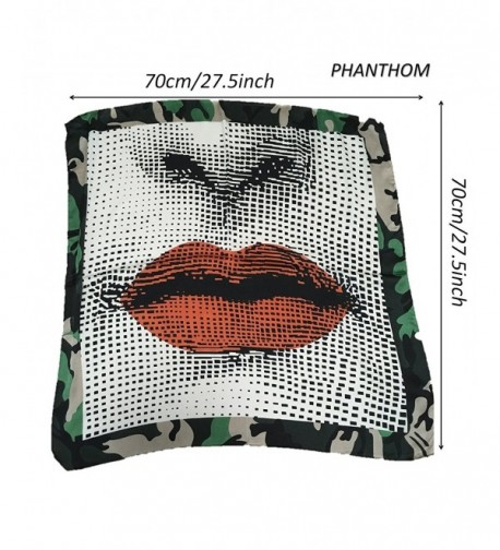 CCGIFT Kerchief scarves Headscarf PHANTHOM - Phanthom - C11872A0YLT