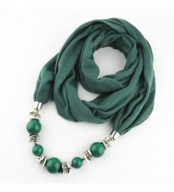 Classic Chiffon Necklace Jewelry Pendant