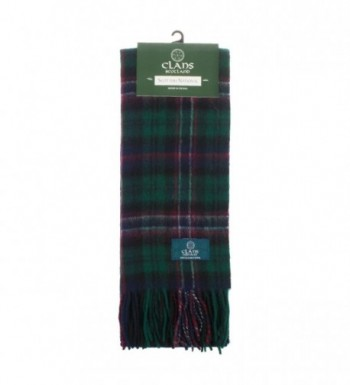 Clans Of Scotland Pure New Wool Scottish Tartan Scarf Scottish National (One Size) - CR123H4D707