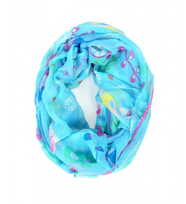 The Botany Viscose Infinity Scarf - Ocean Blue - CH11K53F2C5
