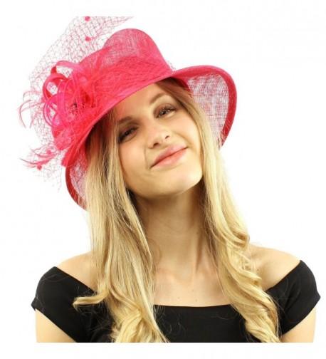 Elegant Victorian Overlay Millinery Hat in Women's Bucket Hats