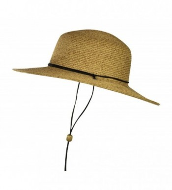 Folie Co Natural Outback Straw in Women's Sun Hats