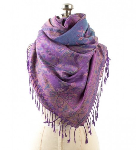 Amrita Pashmina Paisley Traditional Jacquard in Fashion Scarves
