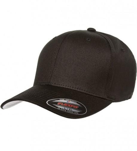 Flexfit Men's THP Premium Cotton Twill Hat- Black- XX-Large - CI125C2M3N9