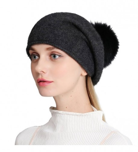 Cashmere Womens Winter Beanie Slouch