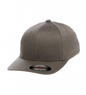 Premium Original Flexfit Wooly Combed Twill Youth Cap 6277Y - Grey - C211EKEZVS5