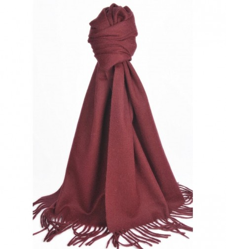 Natural Cashmere Scarf Shawl Pomegranate in Cold Weather Scarves & Wraps