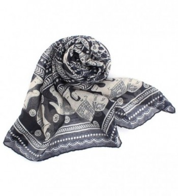 Clearance Elephant Lightweight Scarves Antumn